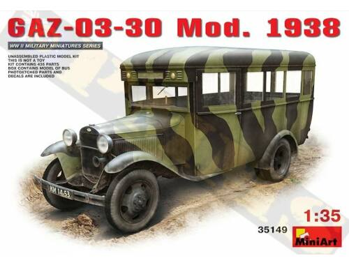Miniart GAZ-03-30 Mod. 1938 1:35 (35149)