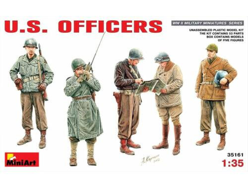 Miniart U.S. Officers 1:35 (35161)