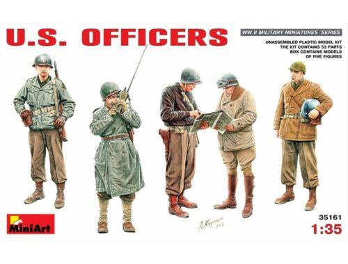 Miniart U.S. Officers 1:35 (35161)