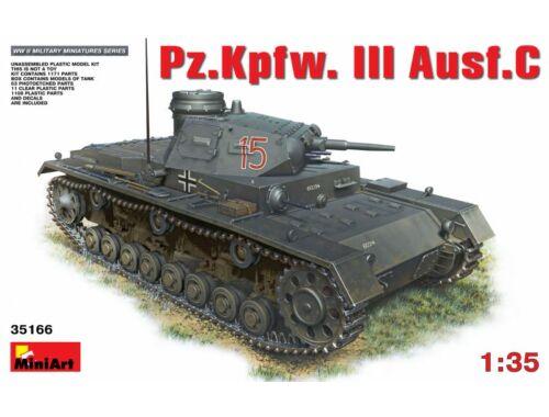 Miniart Pz. Kpfw. III Ausf. C 1:35 (35166)