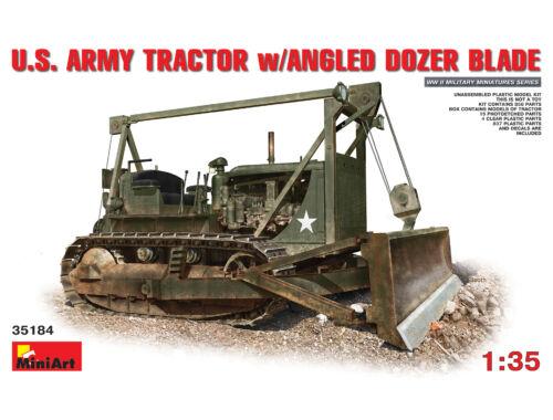 Miniart U.S. Army Tractor w/Angled Dozer Blade 1:35 (35184)