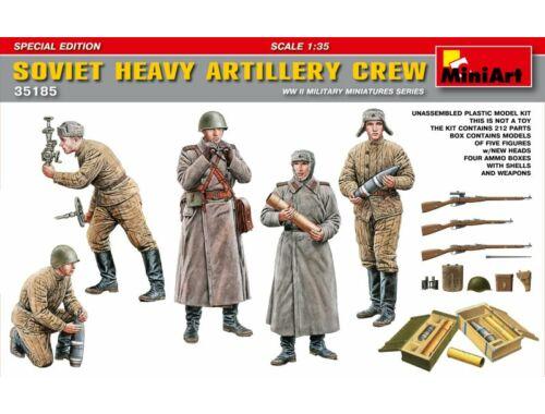 Miniart Soviet Heavy Artillery Crew.Special Edition 1:35 (35185)