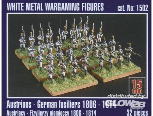 Mirage Hobby Österreichisch-deutsche Füsiliere 1806-1814 1:120 (1502)