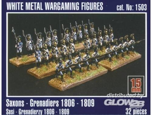 Mirage Hobby Sachsen Grenadiere 1806-1809 1:120 (1503)