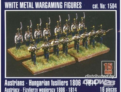Mirage Hobby Österreichisch-ungarische Füsiliere 1806-1814 1:120 (1504)