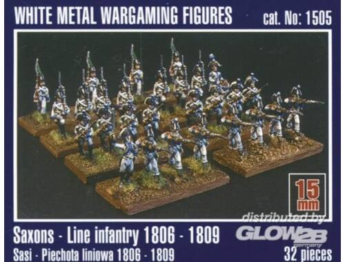 Mirage Hobby Sachsen Linieninfanterie 1806-1809 1:120 (1505)