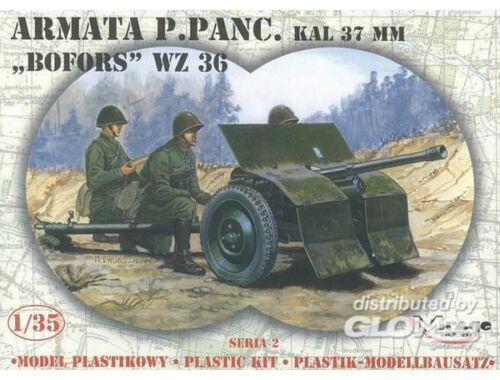 Mirage Hobby 37 mm BOFORS Panzerabwehrkanone 1:35 (35212)