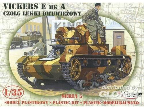 Mirage Hobby Leichter Panzer Vickers E Mk A Limited Edition 1:35 (35303)