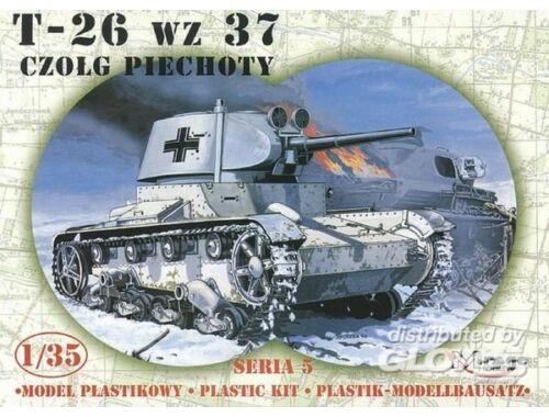 Mirage Hobby Deutscher Beutepanzer T-26 1937 1:35 (35308)