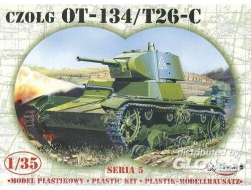 Mirage Hobby Leichter Panzer OT-134 / T-26-C Limited Edition 1:35 (35309)
