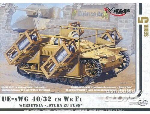 Mirage Hobby Stuka zu Fuss mit Wurfrahmen 40/32 cm 1:35 (35519)