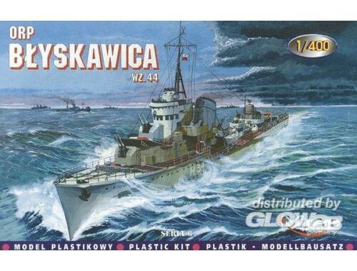 Mirage Hobby Zerstörer ORP Blyskawica 1944 1:400 (40011)