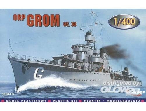 Mirage Hobby Zerstörer ORP Grom 1938 1:400 (40012)