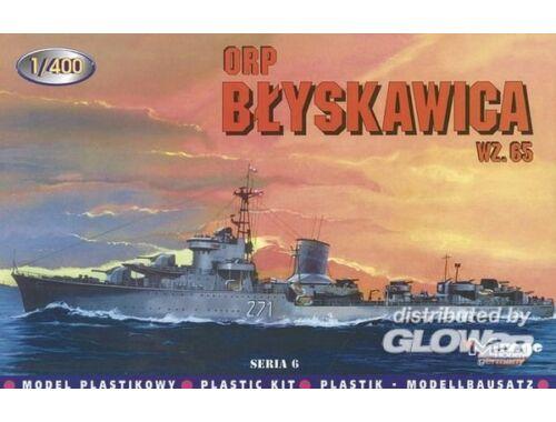 Mirage Hobby Zerstörer Blyskawica 1965 1:400 (40013)