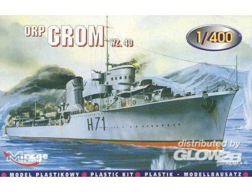 Mirage Hobby Zerstörer ORP Grom 1940 1:400 (40014)