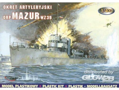 Mirage Hobby Torpedoboot Mazur 1939 1:400 (40022)