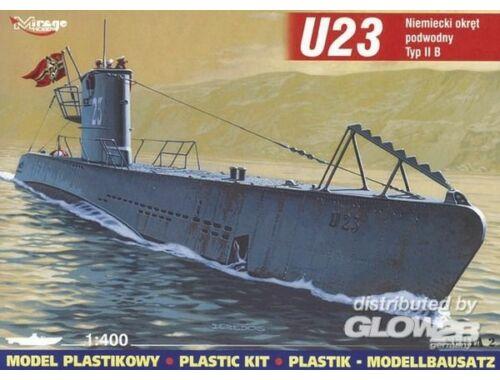 Mirage Hobby Deutsches U-Boot U 23 Typ IIB 1:400 (40024)