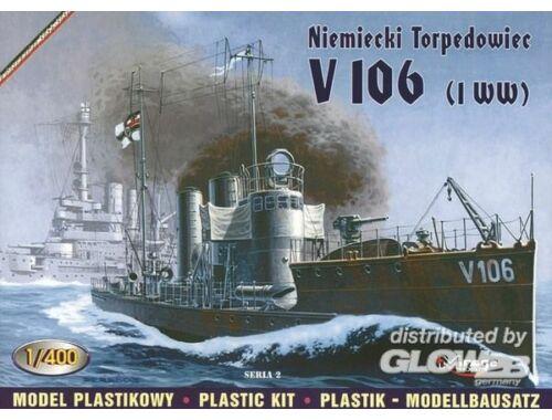 Mirage Hobby Deutsches Torpedoboot V 106 1:400 (40028)