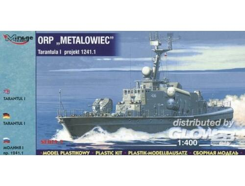 Mirage Hobby ORP Metalowiec Tarantul I Korvette 1:400 (40032)
