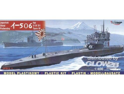 Mirage Hobby Japanisches U-Boot I-506 - IX D1 1:400 (40046)