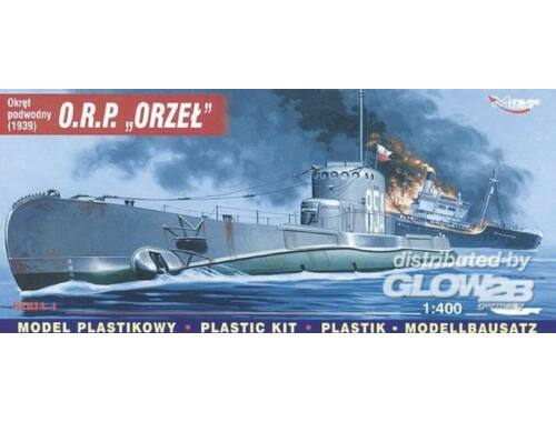 Mirage Hobby Polnisches U-Boot ORP Orzel 1:400 (40047)