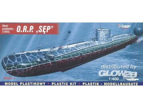 Mirage Hobby Polnisches U-Boot ORP SEP 1:400 (40048)
