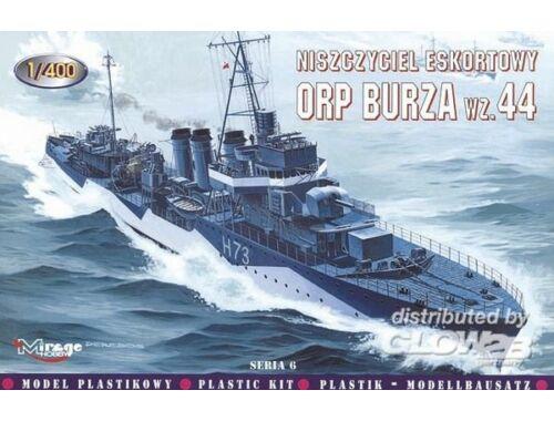 Mirage Hobby Zerstörer ORP Burza 1944 1:400 (40066)