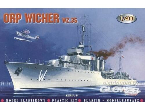 Mirage Hobby Zerstörer ORP Wicher 1935 1:400 (40068)