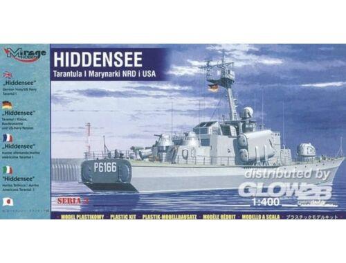 Mirage Hobby Hiddensee - Tarantul I Klasse 1:400 (40232)