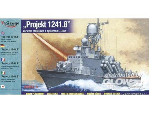 Mirage Hobby Projekt 1241.8 Raketen-Korvette mit Ural Flugzeug Abwehrsystem 1:400 (40422)