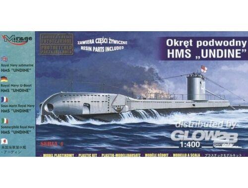 Mirage Hobby U-Boot HMS Undine der Royal Navy 1:400 (40429)