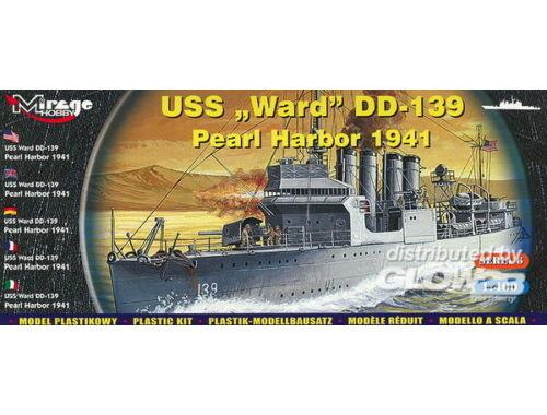 Mirage Hobby USS Ward DD-139 'Pearl Harbor 1941' 1:400 (40601)
