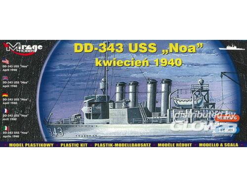 Mirage Hobby DD-343 USS 'Noa' June 1937 1:400 (40604)
