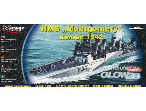Mirage Hobby HMS 'Montgomery' late 1942 1:400 (40607)