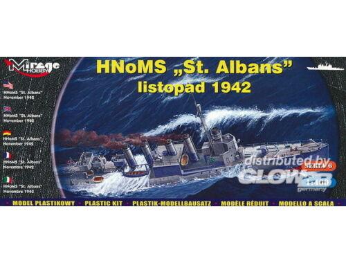 Mirage Hobby HMS 'St Albans' Allied destroyer 1:400 (40609)