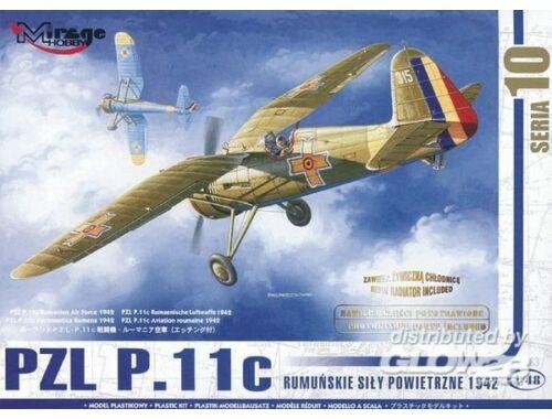 Mirage Hobby PZL P-11 C Rumänische Luftwaffe mit Resin- und Fotoätzteilen 1:48 (48103)