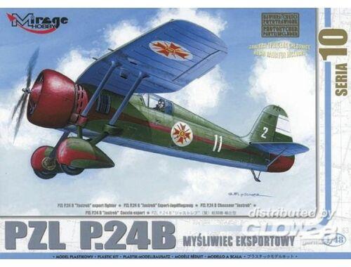 Mirage Hobby PZL P-24 B Jastreb Exportversion mit Resin- und Fotoätzteilen 1:48 (48104)