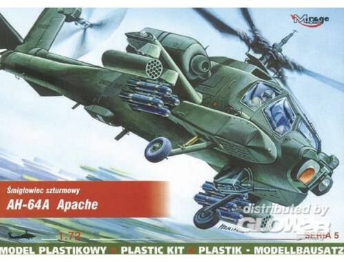 Mirage Hobby McDonnell Douglas AH-64 A Apache 1:72 (72051)