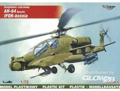 Mirage Hobby McDonnell Douglas AH-64 Apache IFOR Bosnien 1:72 (72052)