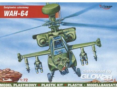 Mirage Hobby McDonnell Douglas WAH-64 Mehrzweck-Kampfhubschrauber 1:72 (72053)
