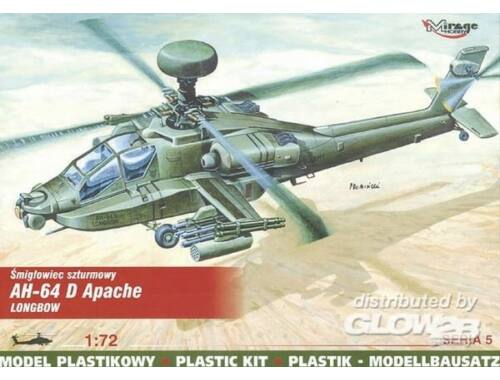 Mirage Hobby McDonnell Douglas AH-64 D Apache Longbow 1:72 (72054)