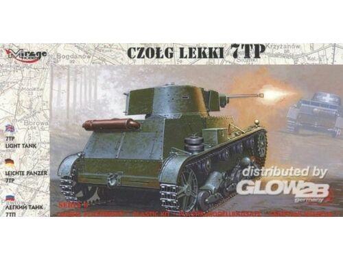 Mirage Hobby Leichter Panzer 7 TP 1:72 (72601)