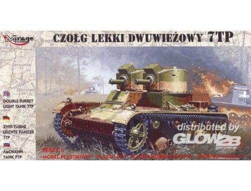 Mirage Hobby Leichter Panzer 7 TP mit Zwillingsturm 1:72 (72602)