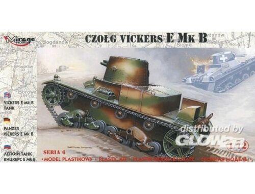 Mirage Hobby Panzer Vickers E Mk B 1:72 (72604)