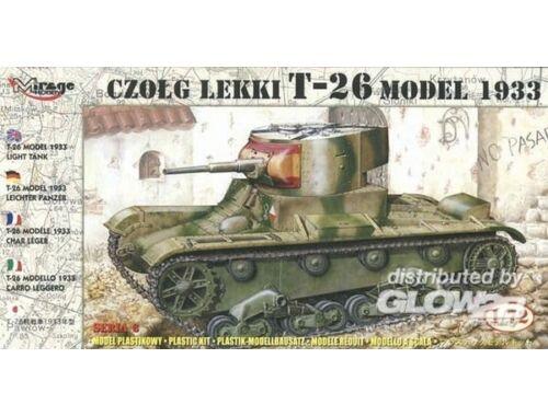 Mirage Hobby Leichter Panzer T-26 1933 1:72 (72609)