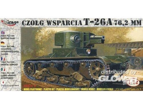Mirage Hobby Leichter Panzer T-26 A 76,2 mm 1:72 (72610)
