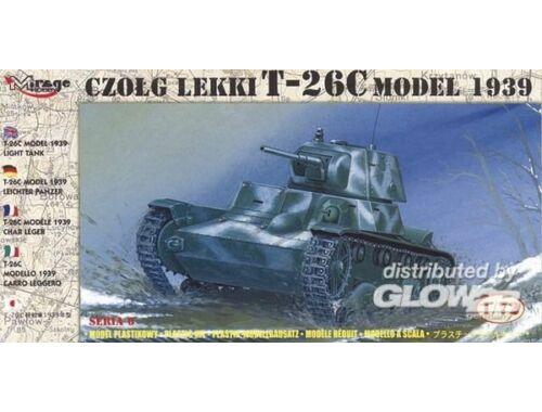 Mirage Hobby Leichter Panzer T-26 C 1939 1:72 (72612)