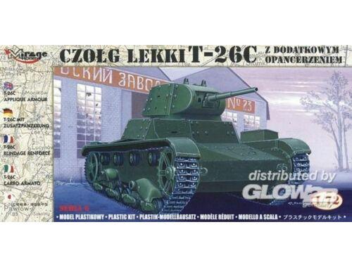 Mirage Hobby T-26 C mit Zusatzpanzerung 1:72 (72613)