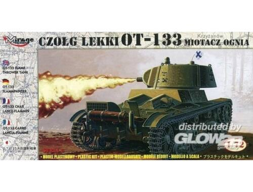 Mirage Hobby Flammpanzer OT-133 finnische Beuteversion 1:72 (72616)
