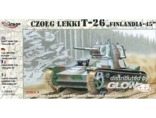 Mirage Hobby Finnischer Panzer T-26 1945 1:72 (72620)